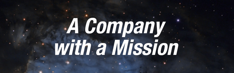 A Company With A Mission